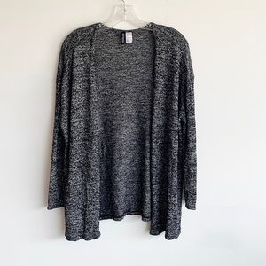 *BOGO* H&M Open Front Black And White Cardigan
